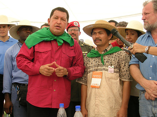 Chavez and Via Campesina